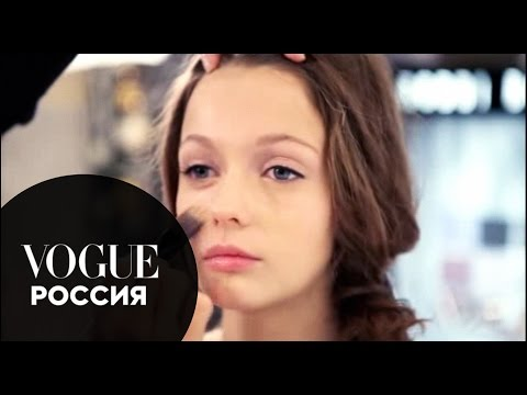 VOGUE.RU/Pink make-up by Bobbi Brown (Pink lips)