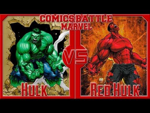 Халк VS Красный Халк