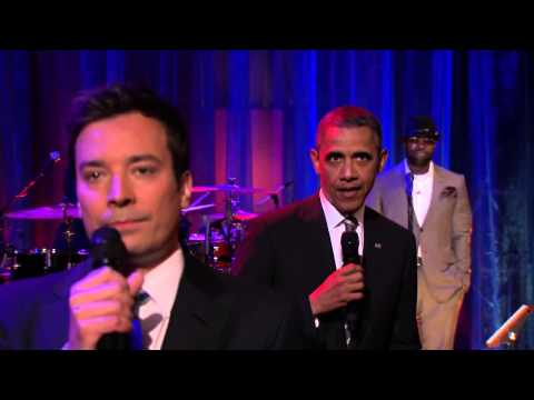 Slow Jam The News with Barack Obama Late Night with Jimmy Fallon- MCS 355 Paige Miller