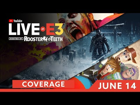 E3 2018: DAY THREE Coverage feat. Ghost of Tsushima, Kingdom Hearts III & MORE!