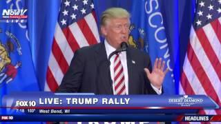 download lagu Full: Donald Trump Speech West Bend, Wisconsin - Fnn gratis
