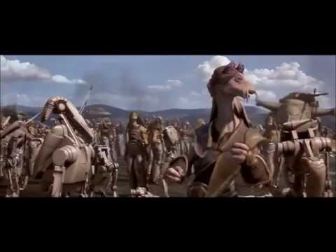 Star Wars The Phantom Menace Battle of Naboo Scene (FULL)
