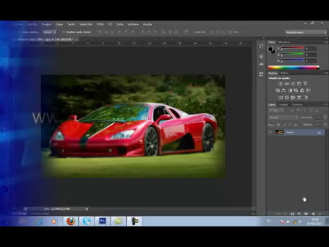 Tutoriales de Photoshop CS6 : Herramienta Desenfoque