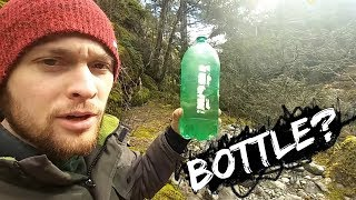 Gold Panning With a BOTTLE?