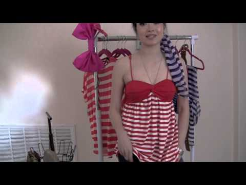 Dressing Room Nautical Fashion Summer Trend 2011 video