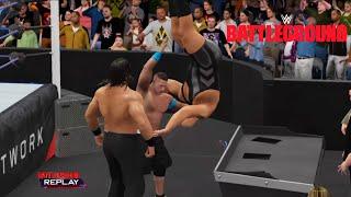 WWE 2K16 -John Cena vs. Big Show vs Great Khali |Triple Threat  Match- World Heavyweight Champion