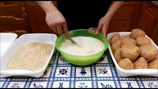 [ARANCINI WITH RAGù] READ INFOBOX AND WATCH VIDEO