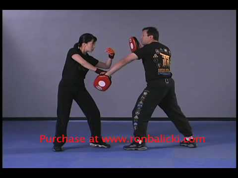 Ron Balicki and Diana Lee Inosanto Jeet Kune Do JKD Split Entries Image 1