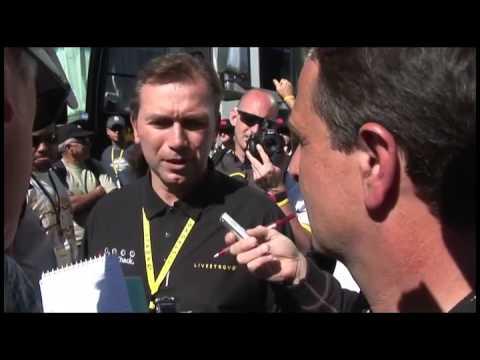 Tour of California 2010: Johan Bruyneel post stage 6