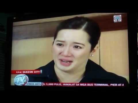 Kris Aquino&#039;s Interview @ TV Patrol