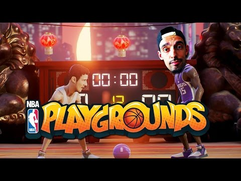 NBA PLAYGROUNDS MULTIPLAYER GAMEPLAY! PORZINGIS TAKES OVER ONLINE! | NBA Playgrounds gameplay