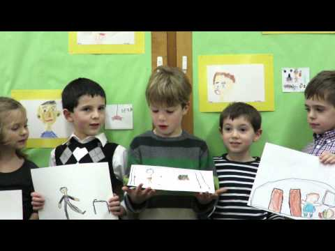 Foote School Kindergartners Sing About Falco's PRIDE