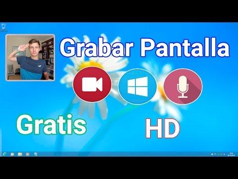 Grabar Pantalla de PC en HD | El mejor programa para Windows 2015