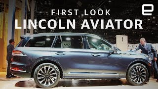 2020 Lincoln Aviator First Look: A kneeling SUV