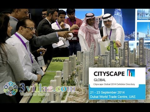 Cityscape Global 2014 Real Estate Property Exhibition / Show at Dubai World Trade Center