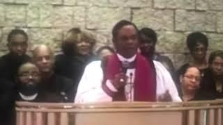 Bishop Thuston at Bishop Carlis Moody's Sr. Homegoing Clip 2- 1/18/19