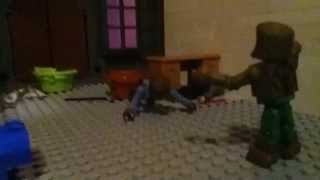 universal monsters ep 1 The wolfman 2010 stopmotin final fight scene minimates lego stopmotion vid