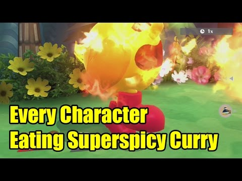 Super Spicy Curry Curry in Super Smash Bros