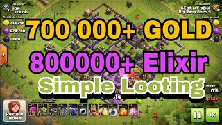 Loot Attack Strategy Th8 | Simple Loot Attacking Trick