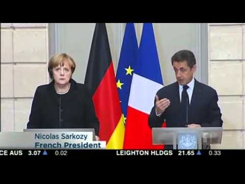 Sarkozy, Merkel unite on debt control