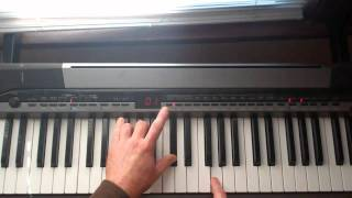 The Zombies - This Will Be Our Year Piano Lesson Part 2