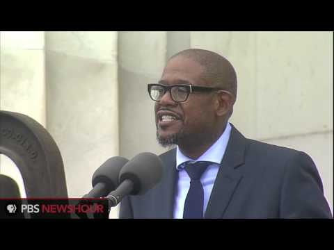 Actor Forest Whitaker: 'This is Your Moment to Join Those Silent Heroes of the Past'