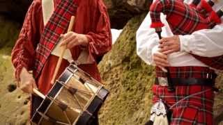 "Bagpipes and drums "" Amazing Grace "" & "" Highland Cathedral "" by Mac Lewis Duo"