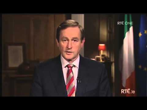 Enda Kenny's Speech To The Nation 2013