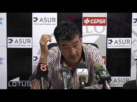 Rafael Escobar tras Balona-Lucena (26-10-14)