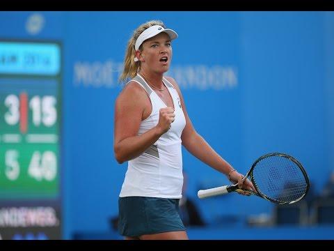 2016 Aegon Classic First Round | CoCo Vandeweghe vs Agnieszka Radwanska | WTA Highlights