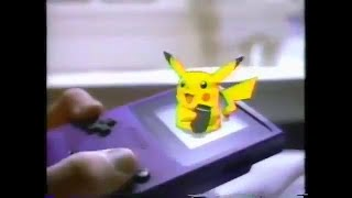 Pokemon Red/Blue Commercial: Trade Pokemon With A Link Cable!