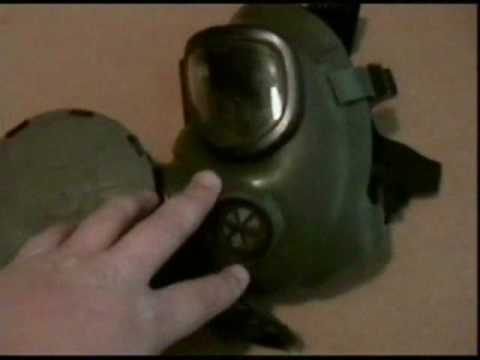 Current Issue M40 Gas Mask Video
