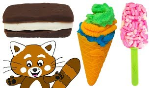 Lär dig färger med Play Doh - Trolldeg - För barn på svenska på vår barnkanal