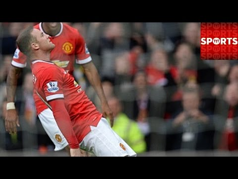 Wayne Rooney Takes a Punch As Man U Knocks Out Tottenham