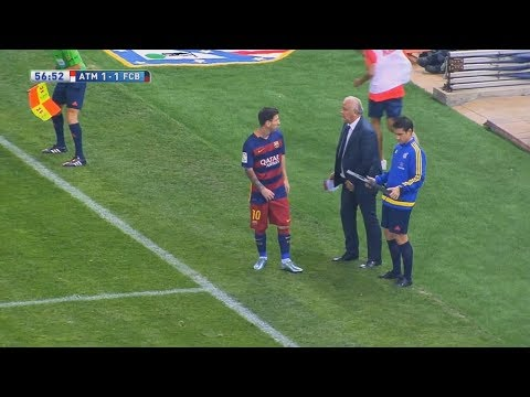 5 Times Lionel Messi Substituted & Changed The Game  ► The Messi Effect