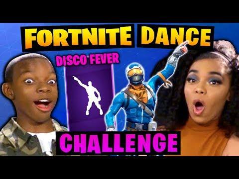 FORTNITE DANCE CHALLENGE!