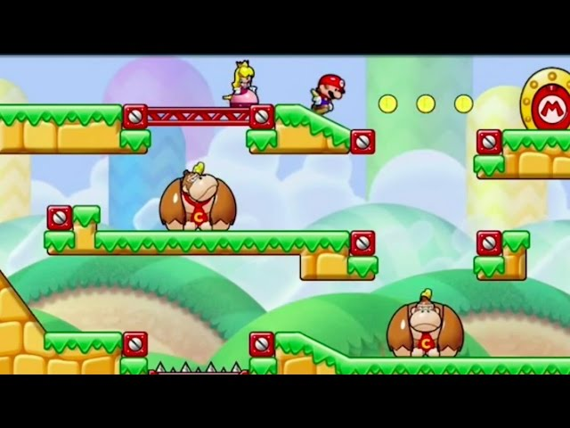 Mario vs. Donkey Kong: Tipping Stars Launch Trailer