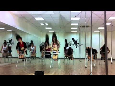VDANCE Chair Dance by FOX Kieu Ngoc - Chocolate