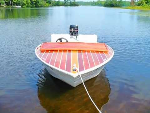 Building A Squirt Runabout With Jet Power video