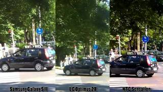 Camera comparison: Samsung Galaxy S II vs. LG Optimus 2X vs. HTC Sensation