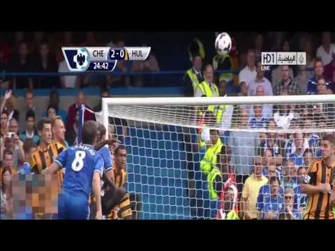 Chelsea vs Hull City Tigers 2-0 (All Goals & Highlights) 18-8-13 2013 [HD 720p]