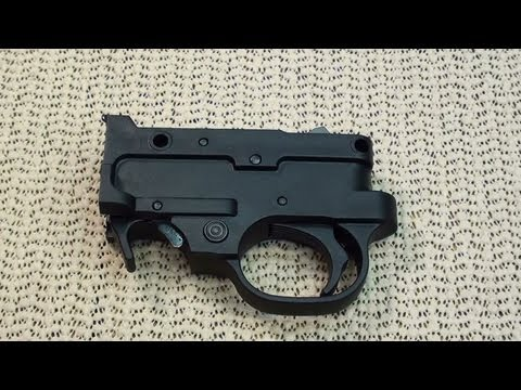 RUGER 10-22 BOLT LOCK MODIFICATION