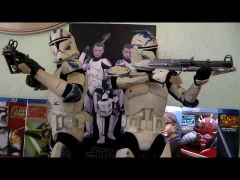 Star Wars SideShow Collectibles Echo & Fives Toy Review