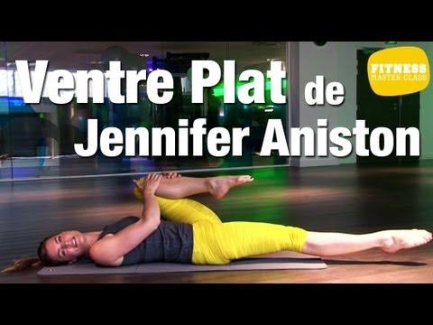 fitness master class le ventre plat de jennifer aniston. Black Bedroom Furniture Sets. Home Design Ideas