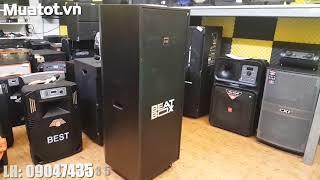 Loa Acnos KB81- Mời Mọi Người Nghe Thử Loa Kéo 2 Bass Đôi 5 Tấc