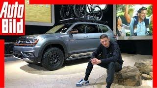 Hyundai, VW, Kia - Diese Autos wünschen wir uns! US-Importe - New York Auto Show 2019