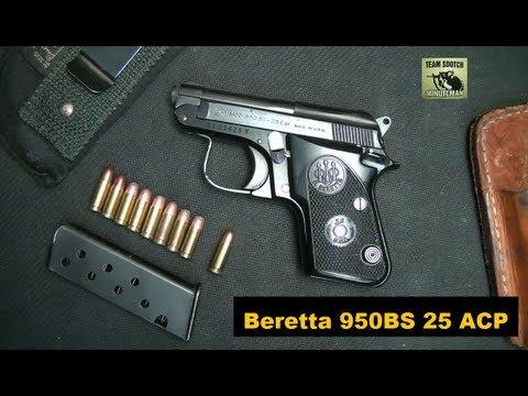 Beretta 950bs 25acp Pistol