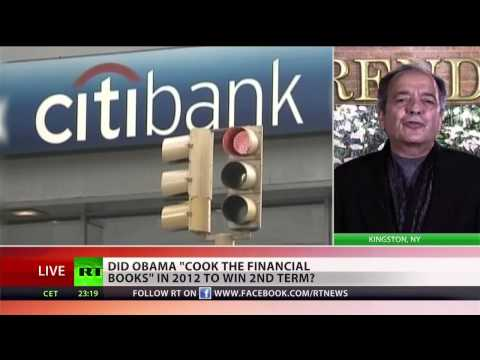 Gerald Celente on whether Obama cooked financial books to get reelected