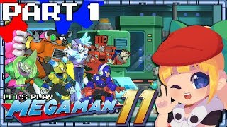 Let's Play Mega Man 11 - Part 1 [Intro and Block Man]
