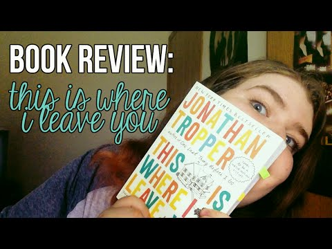 BOOK REVIEW   This Is Where I Leave You